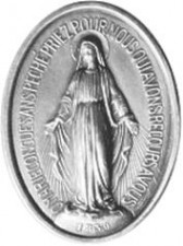 medaille de la vierge